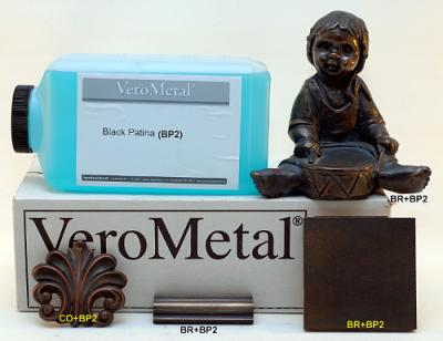 verometal black patina 2000 ml.